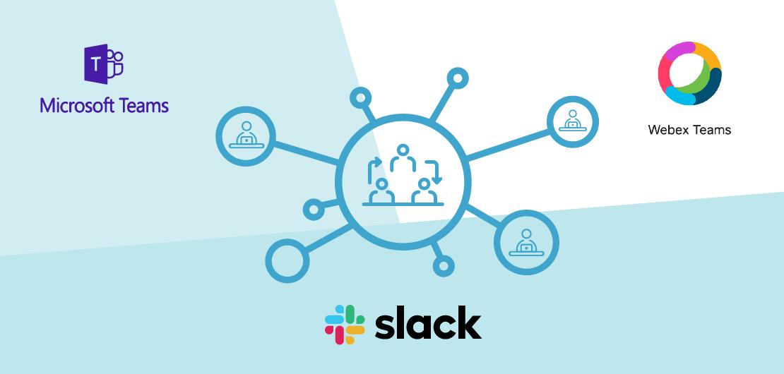 Comparing Slack, Microsoft Teams, and Cisco Webex Teams Guest Account Management