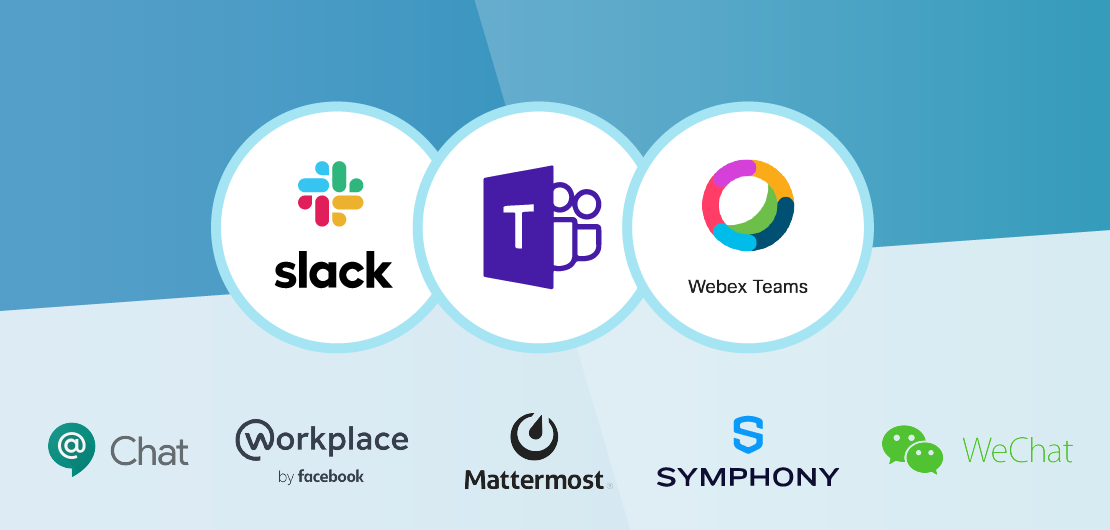 Alternatives to Slack, Microsoft Teams, and Cisco Webex Teams