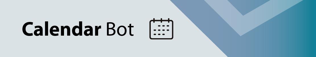 Calendar bot for MS Teams
